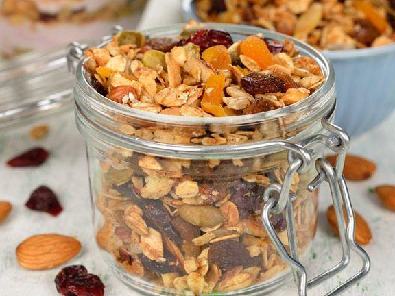 das amerikanische knuspermsli granola selber machen - Selbst Machen