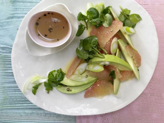 grapefruit avocado salat rezept eat smarter. Black Bedroom Furniture Sets. Home Design Ideas