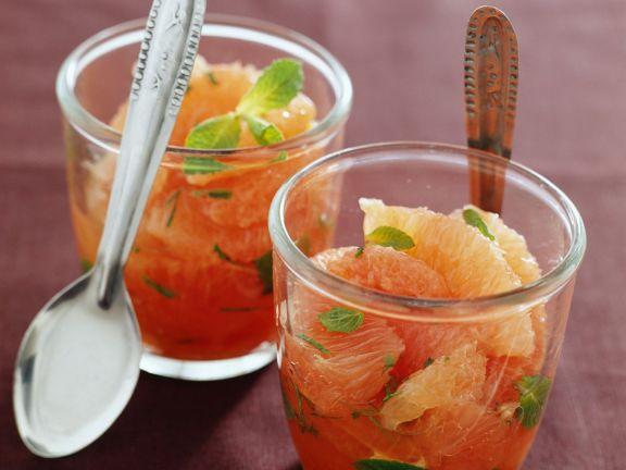 Grapefruitsalat mit Minze