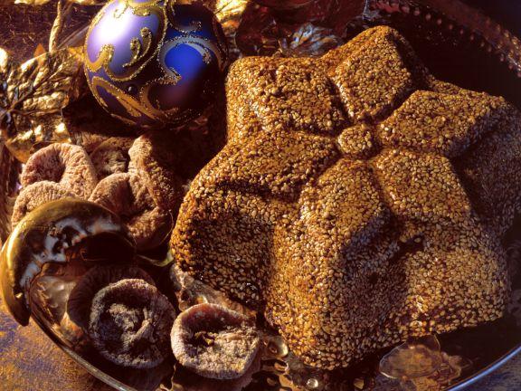Griechischer Feigenkuchen