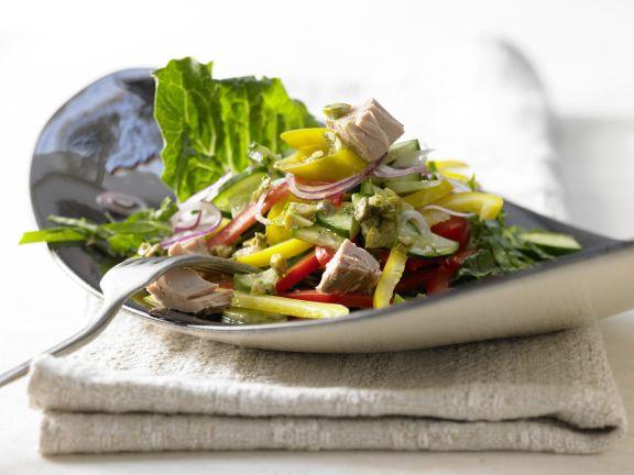 Griechischer Thunfischsalat