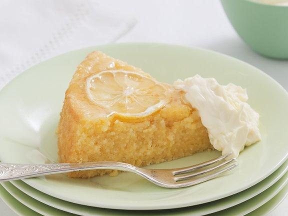Grieß-Zitronenkuchen