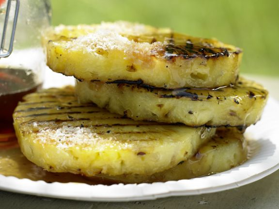 Grill-Ananas