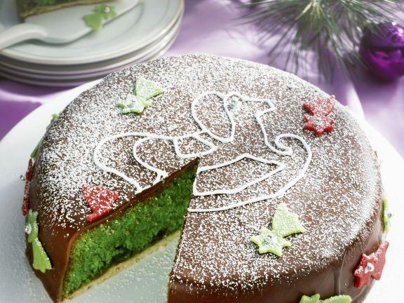Grune Ananas Marzipan Torte Rezept Eat Smarter