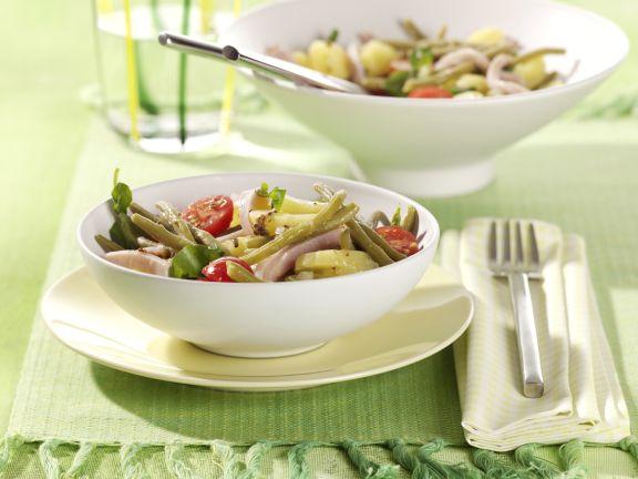 Grüne Bohnen-Kartoffelsalat