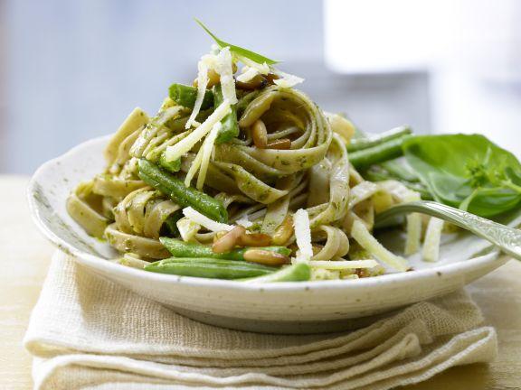 Grüne-Bohnen-Pasta