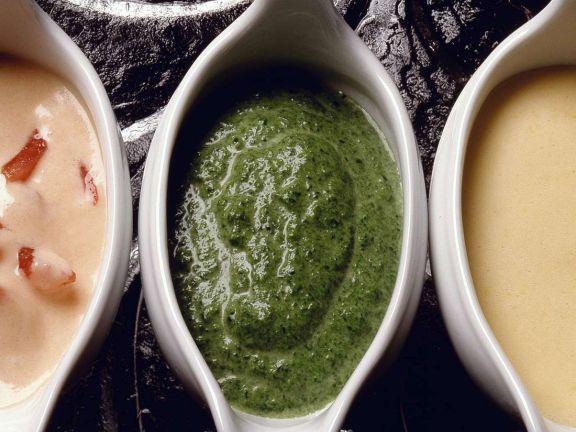 Grüne Kräutersauce