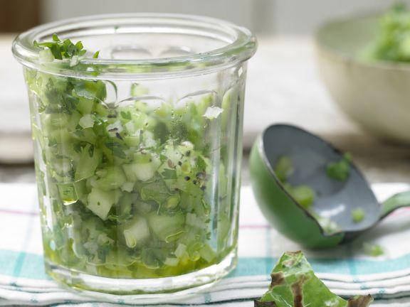 Außergewöhnlich Grüne Tomaten-Salsa Rezept   EAT SMARTER &FM_17