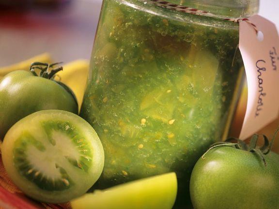 Grüne Tomatenmarmelade