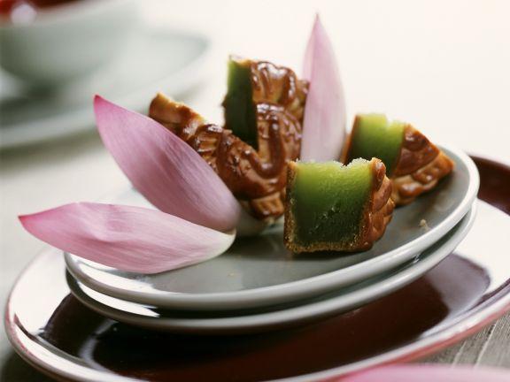 Grüner Fruchtkuchen aus China