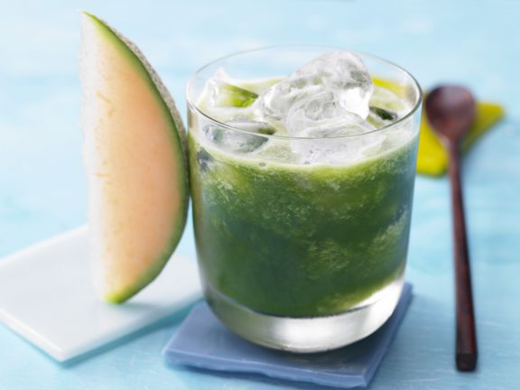 Grüner Melonen-Mix
