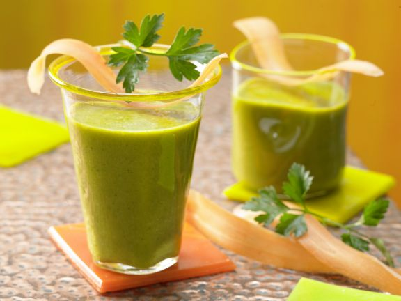 Grüner Möhren-Mix