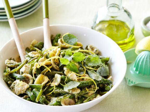 Grüner Spargel Mit Nudeln Und Pesto Rezept Eat Smarter