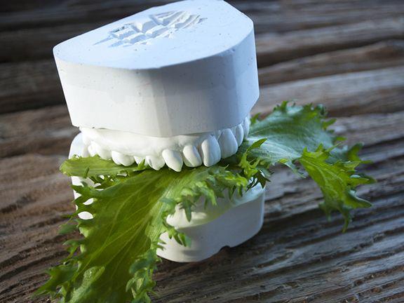 Grünes Blattgemüse für die Zahngesundheit