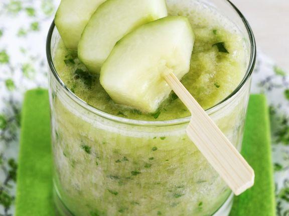 Gurken-Apfel-Bananen-Shake