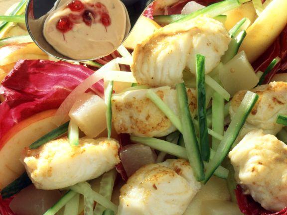 Gurken-Fischsalat