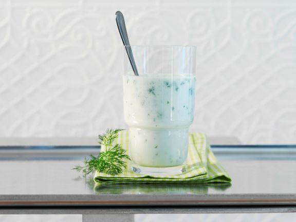 Gurken-Joghurt-Smoothie mit Kefir