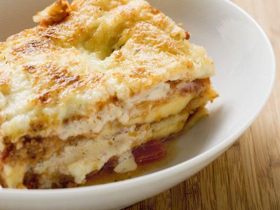 Hackfleisch-Lasagne
