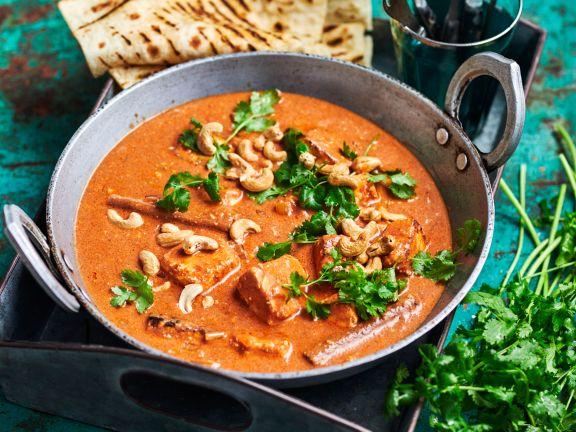 Hähnchen-Curry mit Cashews