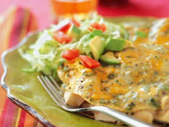 Hähnchen-Enchilada