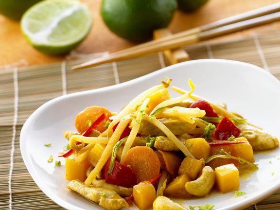 Hähnchen-Gemüsecurry