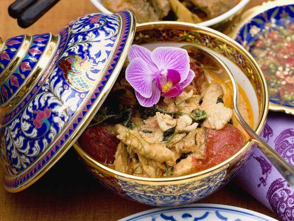 Hähnchen-Kokoscurry