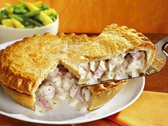 Hähnchen-Pie