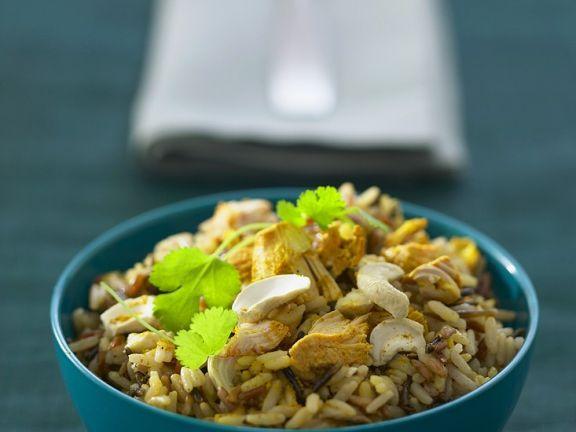 Hähnchen-Reiscurry