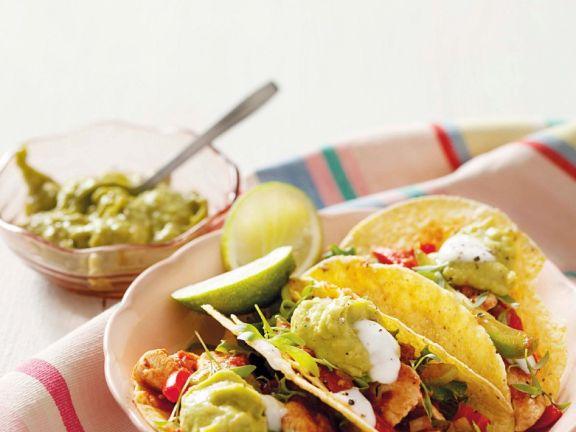 Hähnchen-Tacos