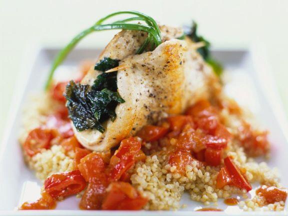Hähnchenbrust mit Quinoa