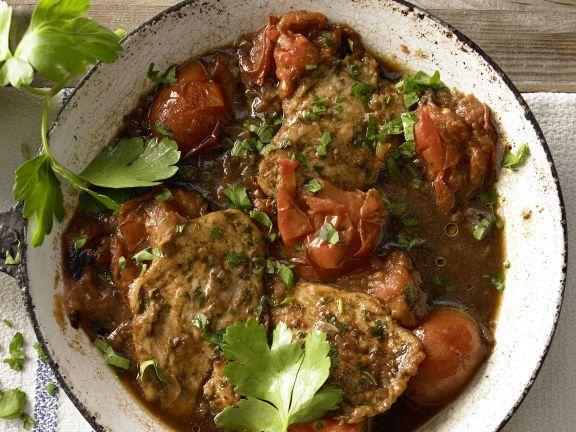 Hähnchenbrust mit Tomaten