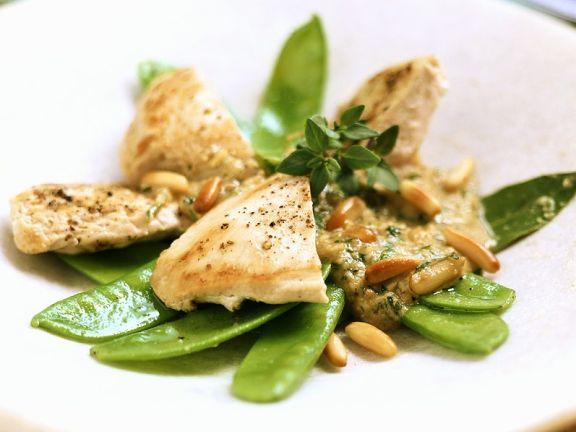Sommerküche Hähnchen : Hähnchenbrust mit zuckerschoten rezept eat smarter