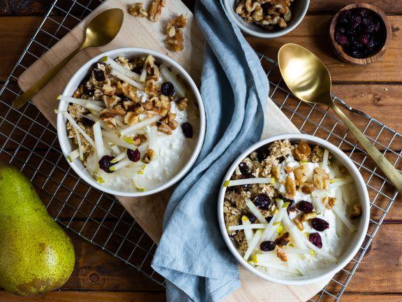 Haferflocken-Frühstück