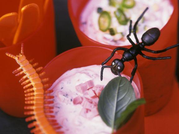 Halloween-Brotaufstriche