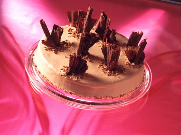 Haselnuss-Karamell-Schoko-Torte