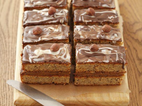 Haselnuss-Toffee-Kuchen