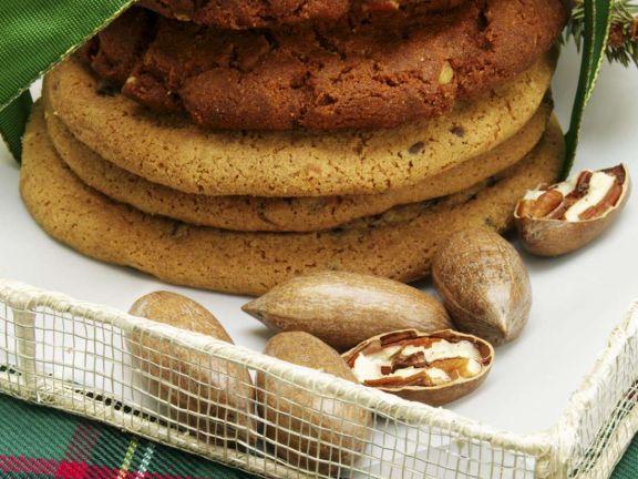 Haselnuss-Zimt Cookies
