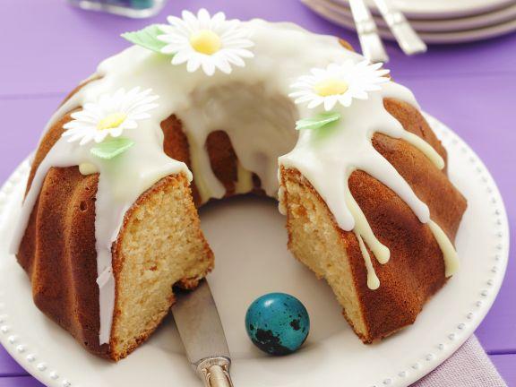 Hefekuchen zu Ostern