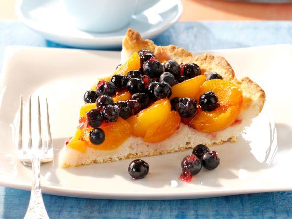 Heidelbeer-Aprikosen-Tarte