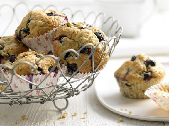 Heidelbeer-Bananen-Muffins