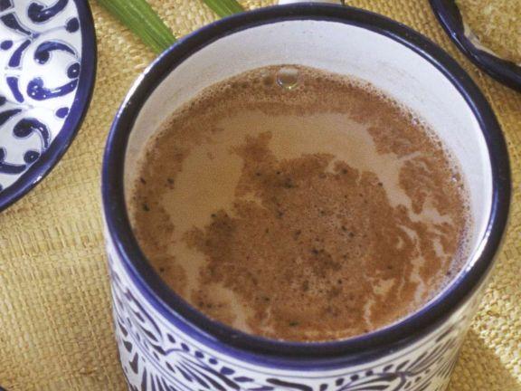 Heiße Gewürz-Schokolade