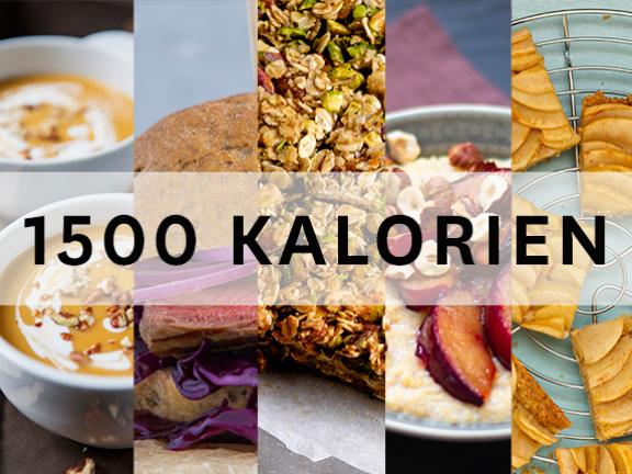 1500-Kalorien-Tag mit herbstlichen Sattmachern