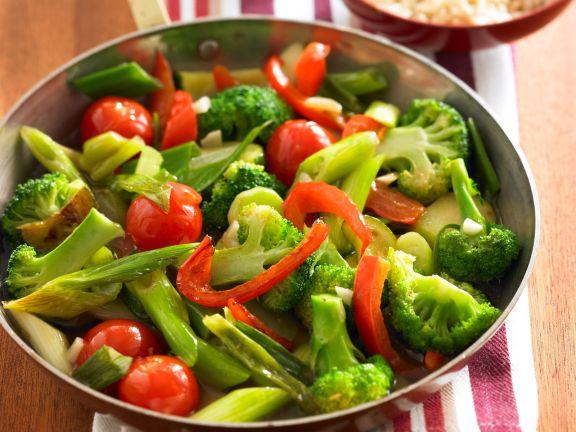 Herbstliche Gemüsepfanne