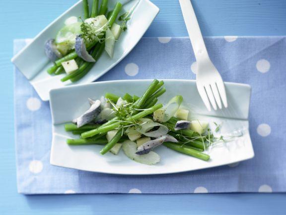 Herings-Bohnen-Salat