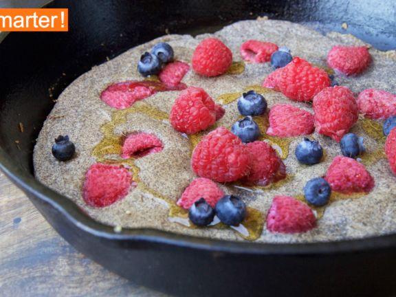 Himbeer-Buchweizen-Pancakes