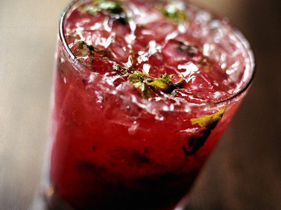 Himbeer-Drink