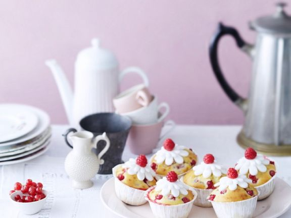 Himbeer-Kokos-Muffins