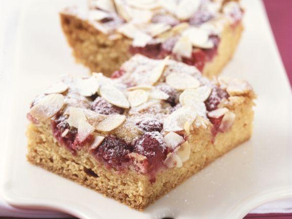Himbeer-Mandel-Kuchen