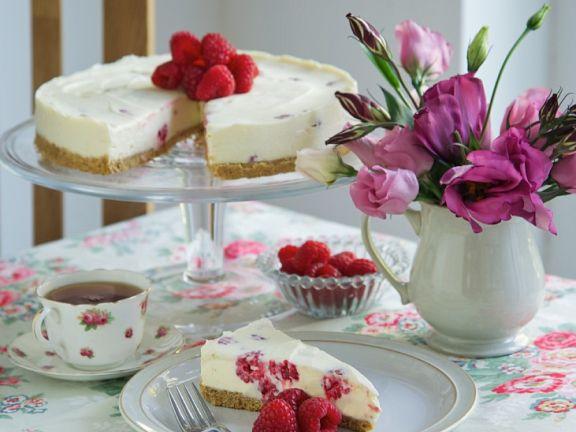 Himbeer-Schoko-Cheesecake