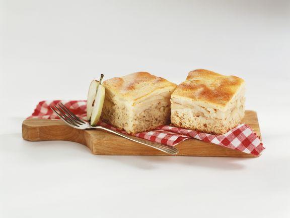 Honig-Apfel-Schnitten